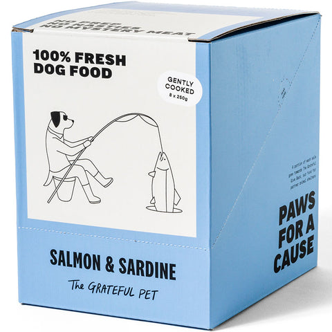 The Grateful Pet Gently Cooked Salmon & Sardine