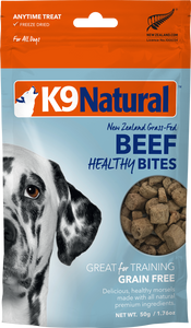 K9 Natural Freeze Dried Healthy Bites - Beef