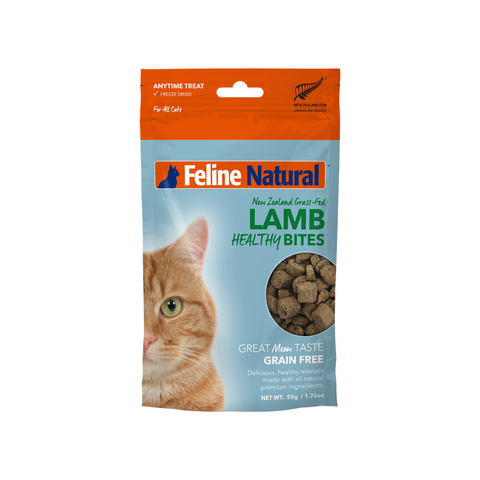 Feline Natural Freeze Dried Healthy Bites - Lamb