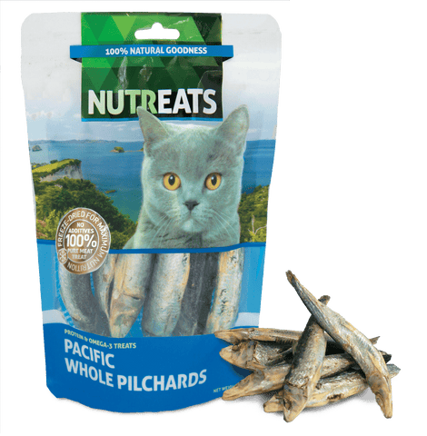 Nutreats Freeze Dried Pilchards for Cats