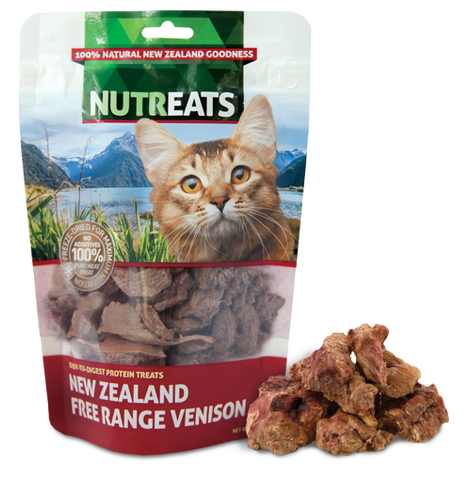 Nutreats Freeze Dried Venison for Cats