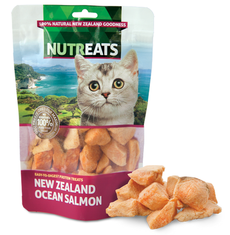 Nutreats Freeze Dried Ocean Salmon for Cats