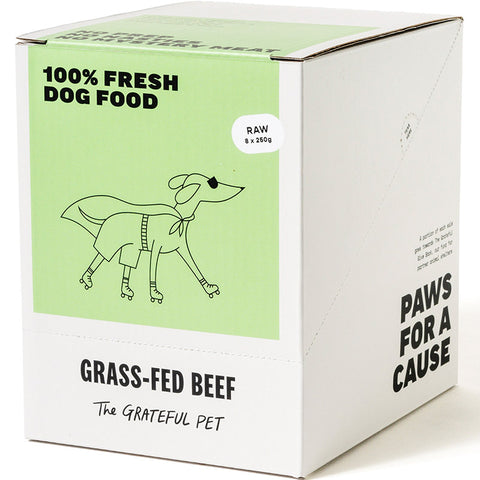 The Grateful Pet Frozen Raw Grass-fed Beef