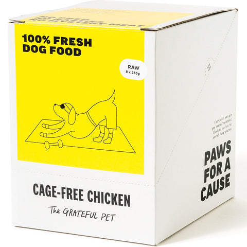 The Grateful Pet Frozen Raw Cage-free Chicken