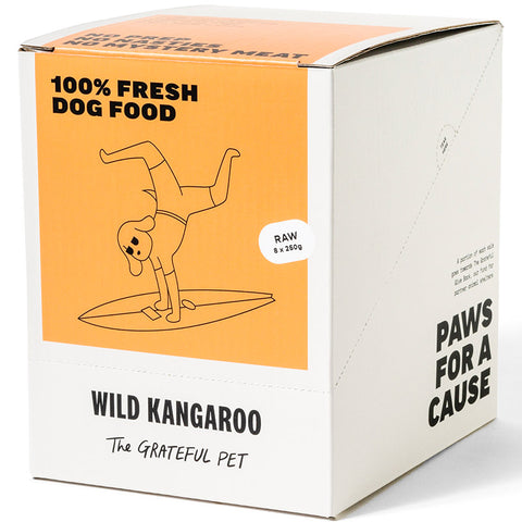 The Grateful Pet Frozen Raw Wild Kangaroo