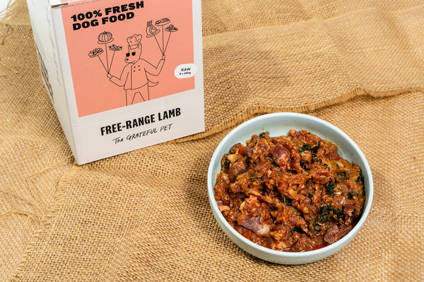 The Grateful Pet Frozen Raw Free-range Lamb