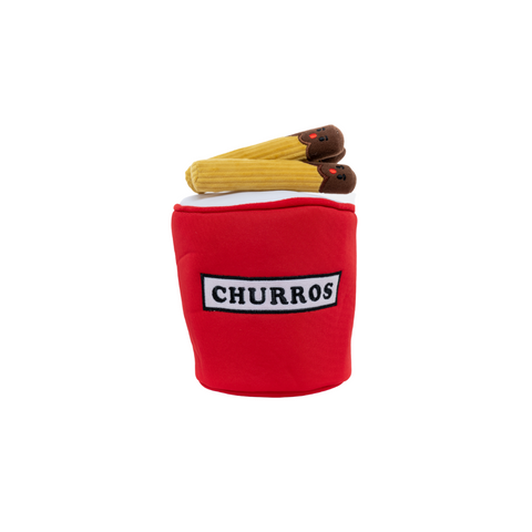 Hey Cuzzies Hide & Seek Toy - Churros Bucket
