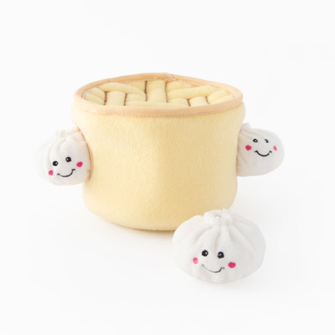 Zippypaws Soup Dumplings Burrow Toy