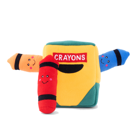 Zippypaws Crayon Box Burrow Toy
