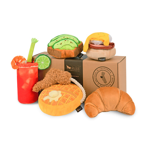 P.L.A.Y. Barking Brunch Dog Toys Set