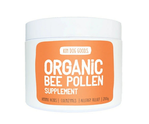 Kin Dog Goods Supplement - Organic Bee Pollen