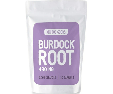 Kin Dog Goods Supplement - Burdock Root