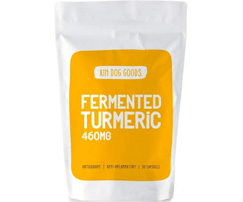 Kin Dog Goods Supplement - Fermented Turmeric