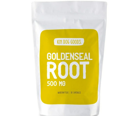 Kin Dog Goods Supplement - Goldenseal Root