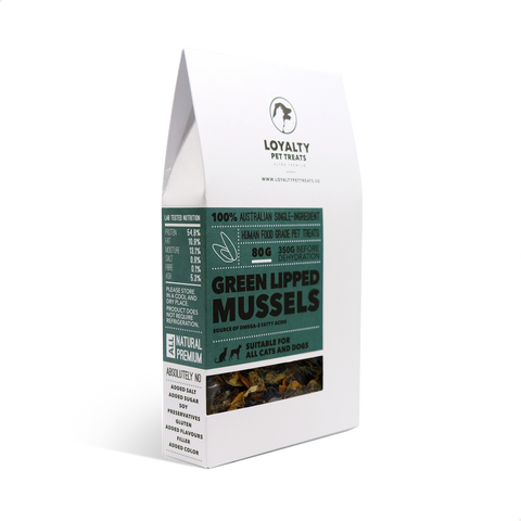 Loyalty Pet Treats Green Lipped Mussels
