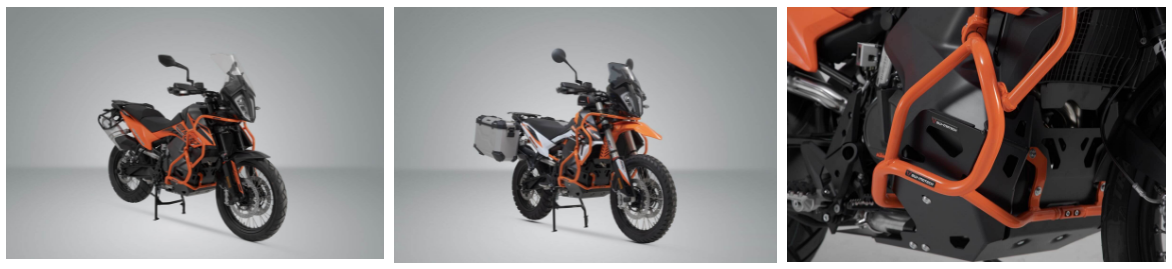 KTM 890 accessories from SW-Motech