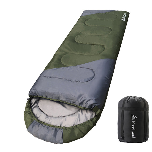 FreeLand Camping Sleeping Bags-Waterproof, Lightweight, for Adults & Kids