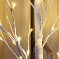 Bolylight Birch Tree with 96 LED Bulbs, 6ft height Christmas Tree