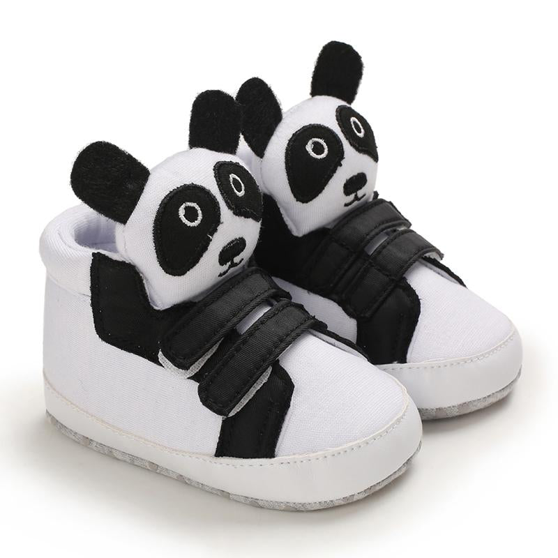 Cartoon Pattren Velcro Baby Shoes Wholesale Children's Clothing