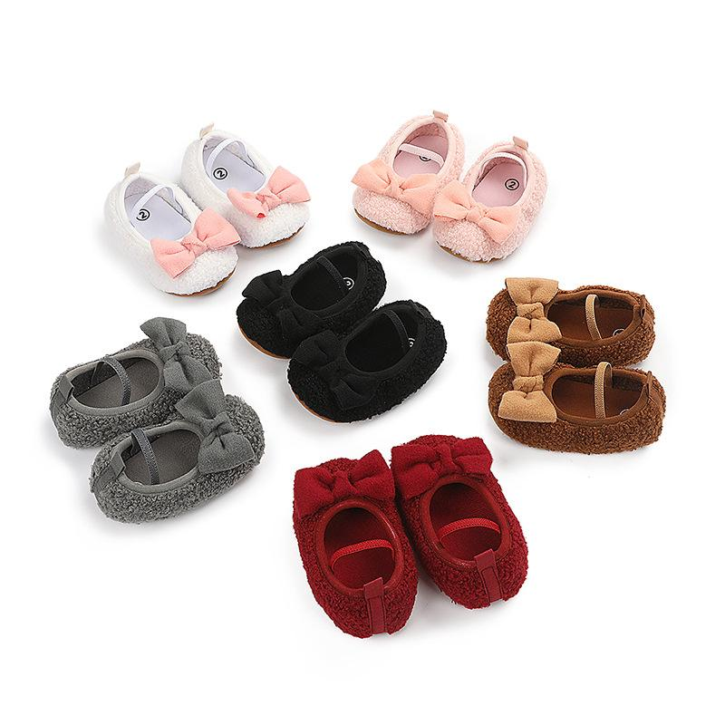 Elastic Band Baby Shoes for Baby Girl Wholesale children's clothing