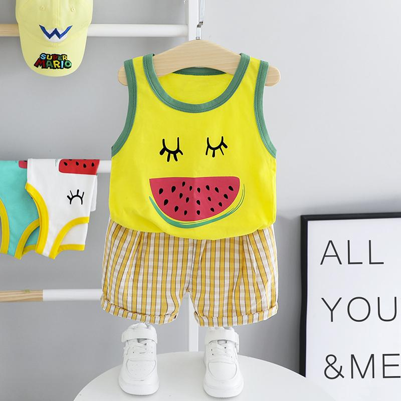 2-piece Watermelon Pattern T-shirt & Shorts for Children Boy£¨No Shoes???Wholesale children's clothing - PrettyKid