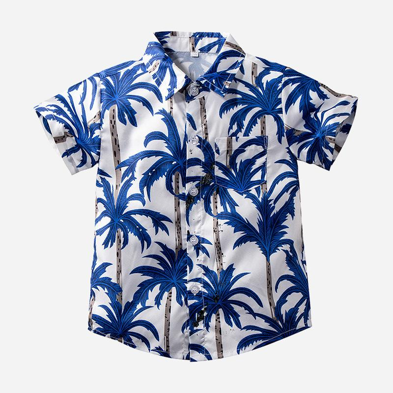 Children's Casual Coconut Shirt Online - PrettyKid