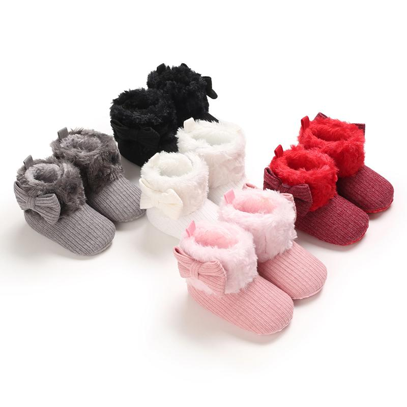 Kids Wear Manufacturer Velcro Design Cotton Fabric Shoes for Baby Girl