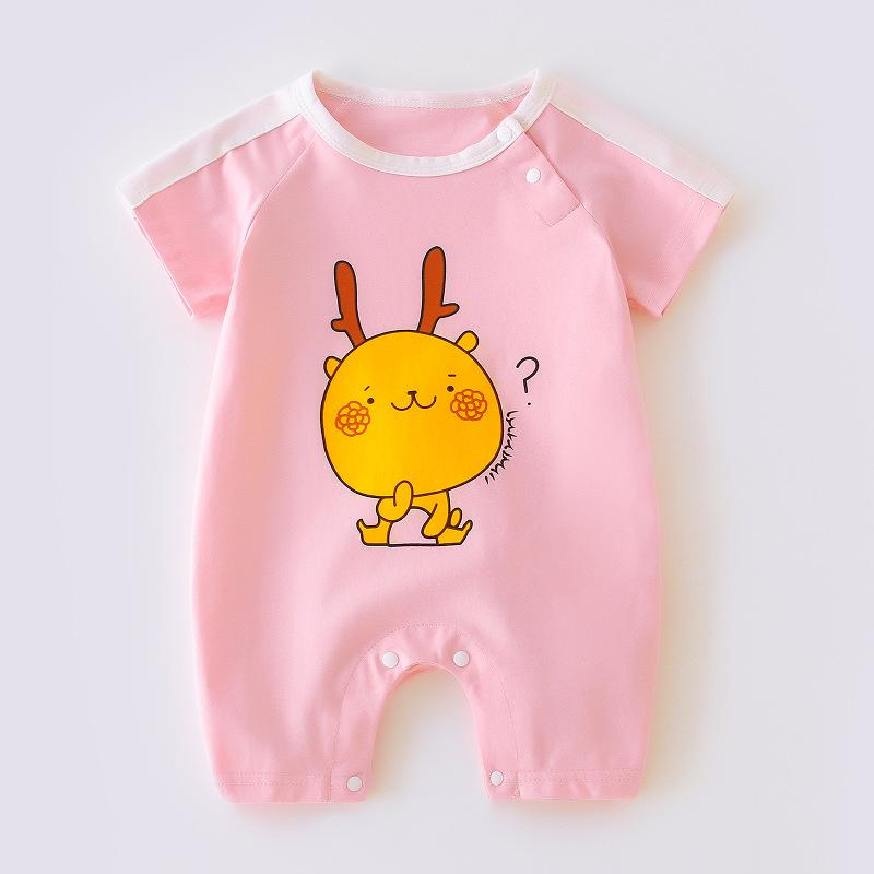 Cartoon Design Jumpsuit for Baby Girl Wholesale children's clothing