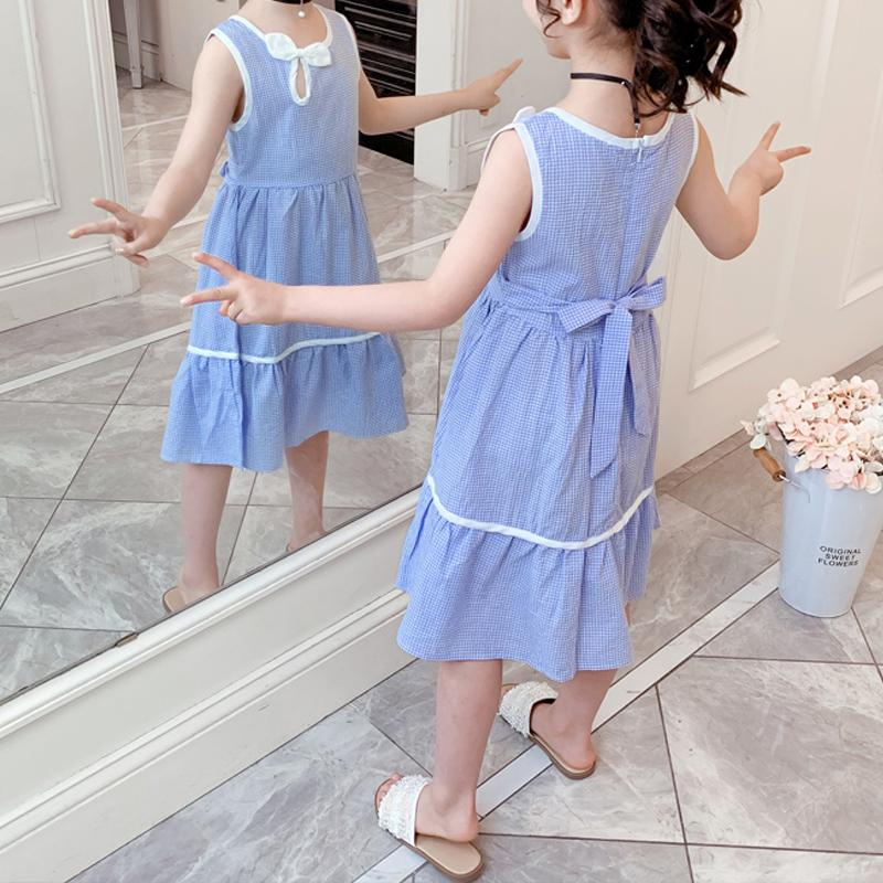 Plaid Dress for Girl Wholesale Children's Clothing