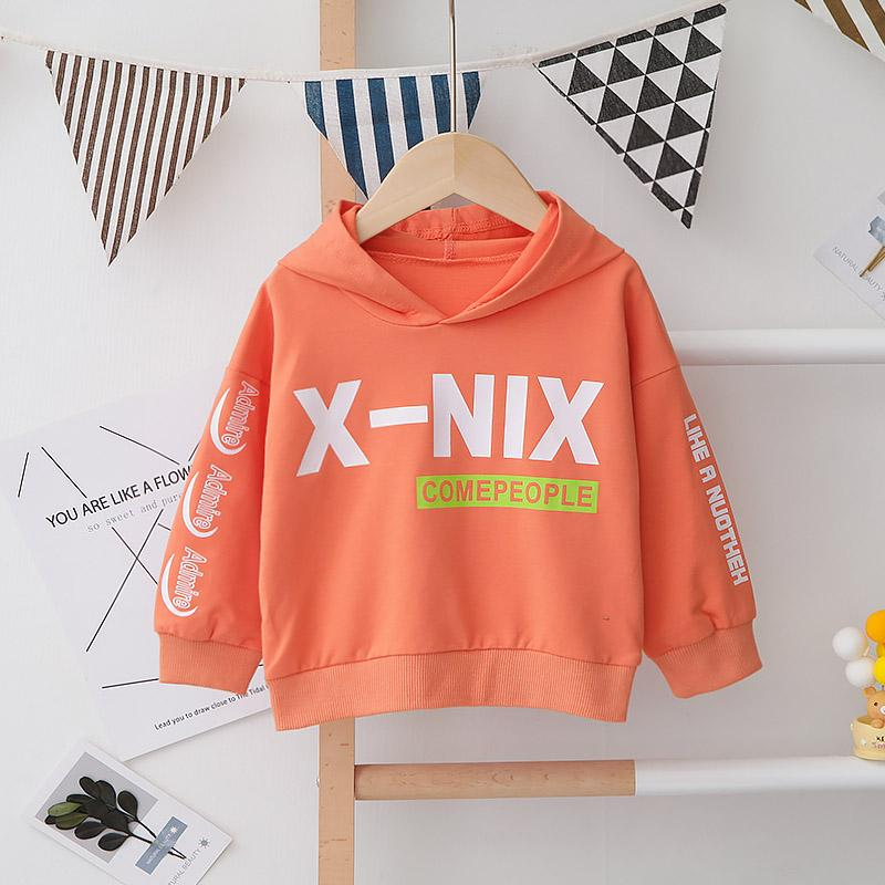 Letter Pattern Hoodie for Toddler Boy Wholesale children's clothing