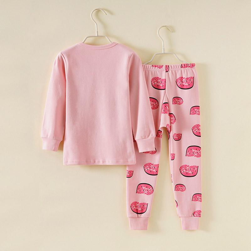 2-piece Fruit Pattern Pajamas Sets for Girl - PrettyKid