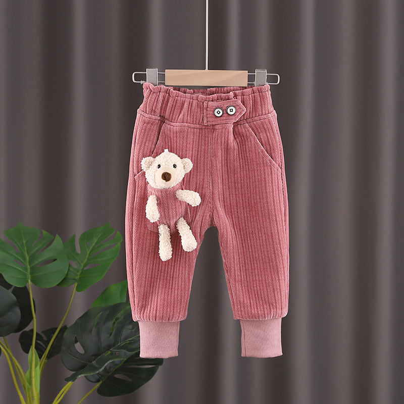 2021 Fashion Wholesale Girls Leggings Harem Pants Winter Casual Pants Imported