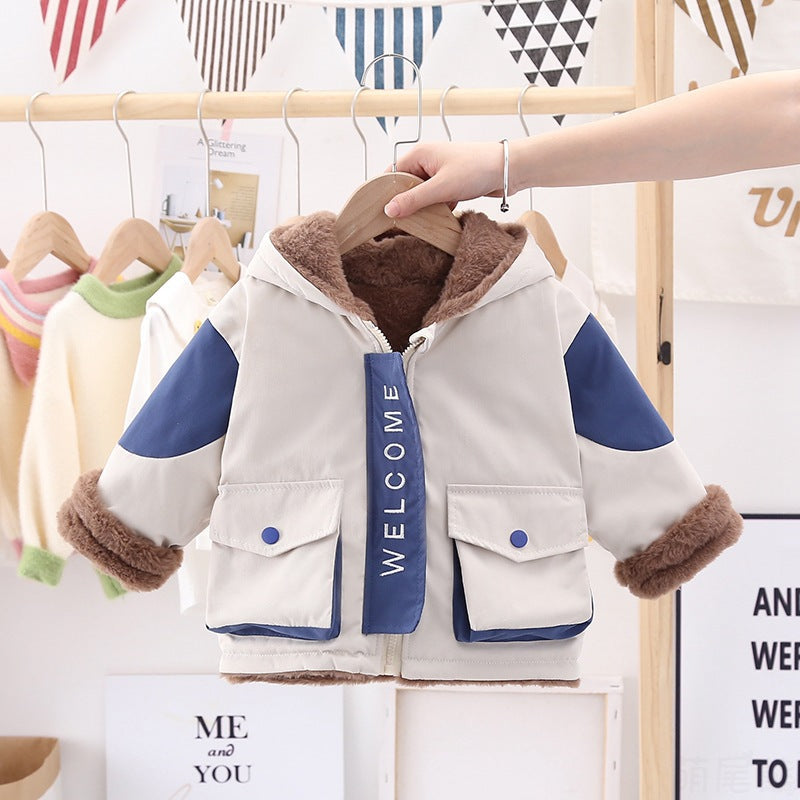Children Boys Winter Clothing Wholesale All Matching Jacket Wholesale