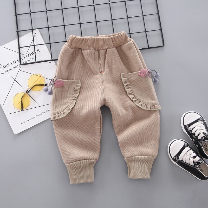 Urban Kids Winter Trousers Cute Tail Bear Clothing Vendor