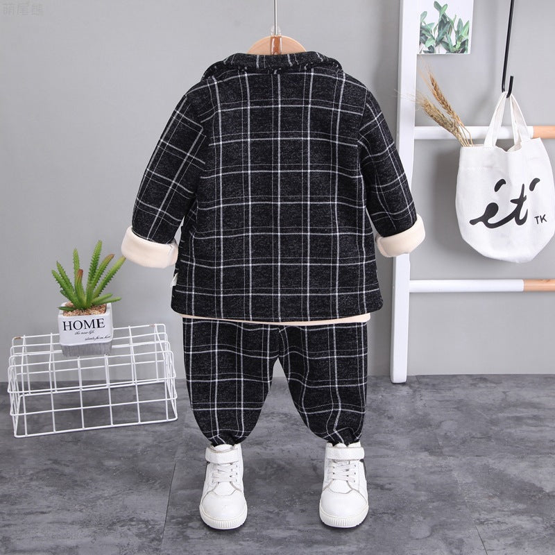 Stylish Children Clothing Winter Clothes Baby Boy Set Wholesale