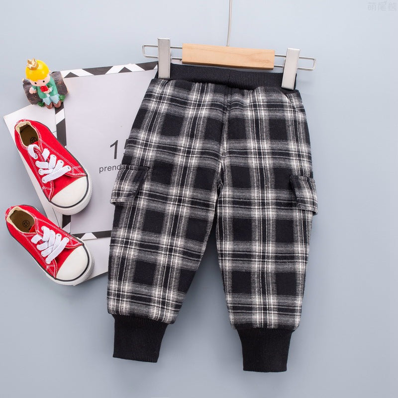Baby Boy Children Winter Clothes Boy Trousers Wholesale - PrettyKid