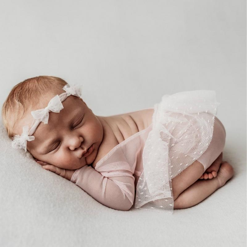 Polo Jumpsuit Cheap Lace Baby Photographic Clothing