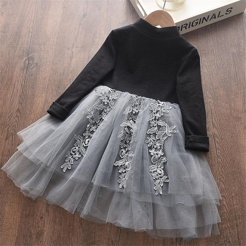 Mesh Princess Dress for Girl Wholesale Children's Clothing