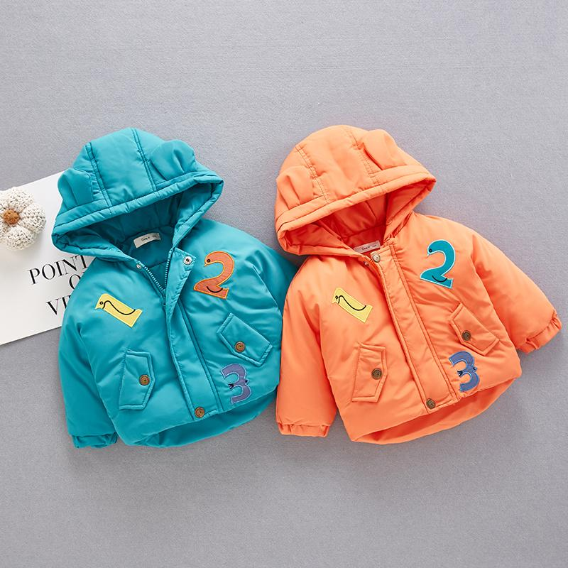Extra Thick Puffer Jacket for Baby Wholesale children's clothing