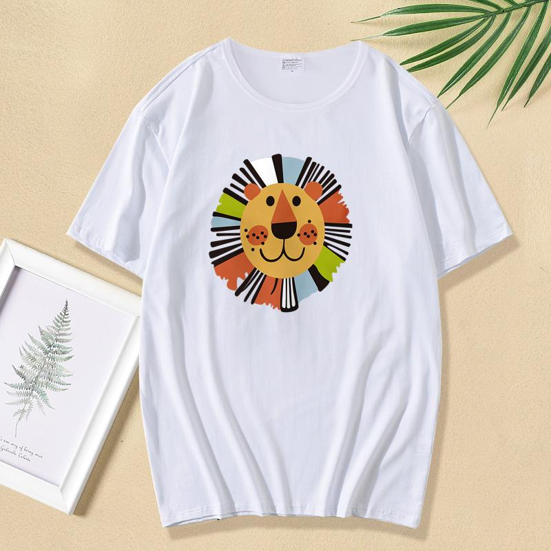 Cartoon Design T-shirt for Whole Family Wholesale children's clothing