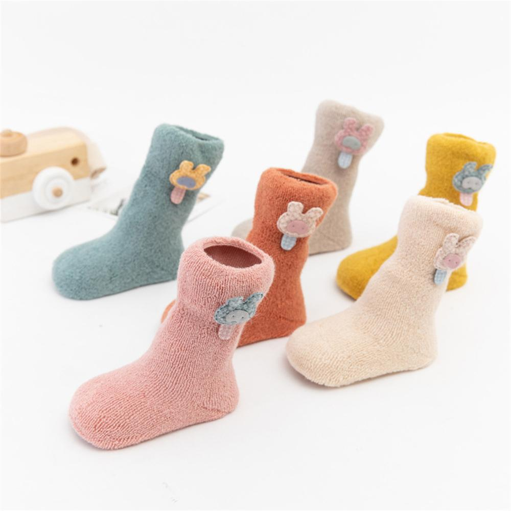 Baby Girls 3-Pairs Cartoon Cute Socks Sets Baby Accessories Wholesale - PrettyKid