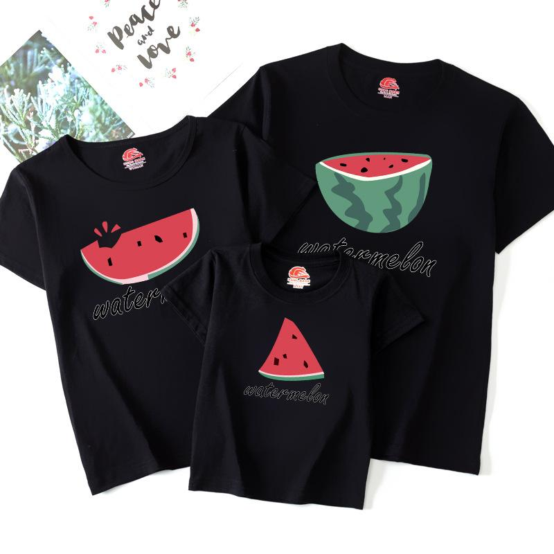 Fruit Pattern T-shirt for Whole Family Children's clothing wholesale - PrettyKid