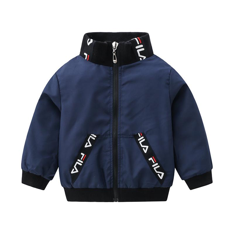 Letter Pattern Jacket for Toddler Boy Wholesale children's clothing
