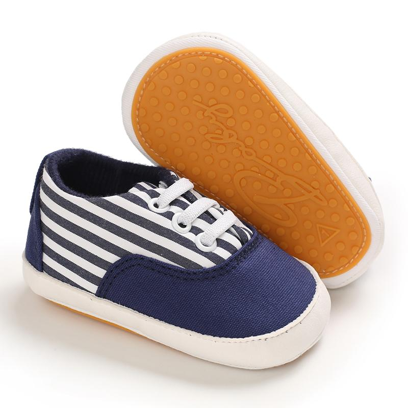 Elastic Band Design Soft Canvas Baby Shoes Wholesale children's clothing