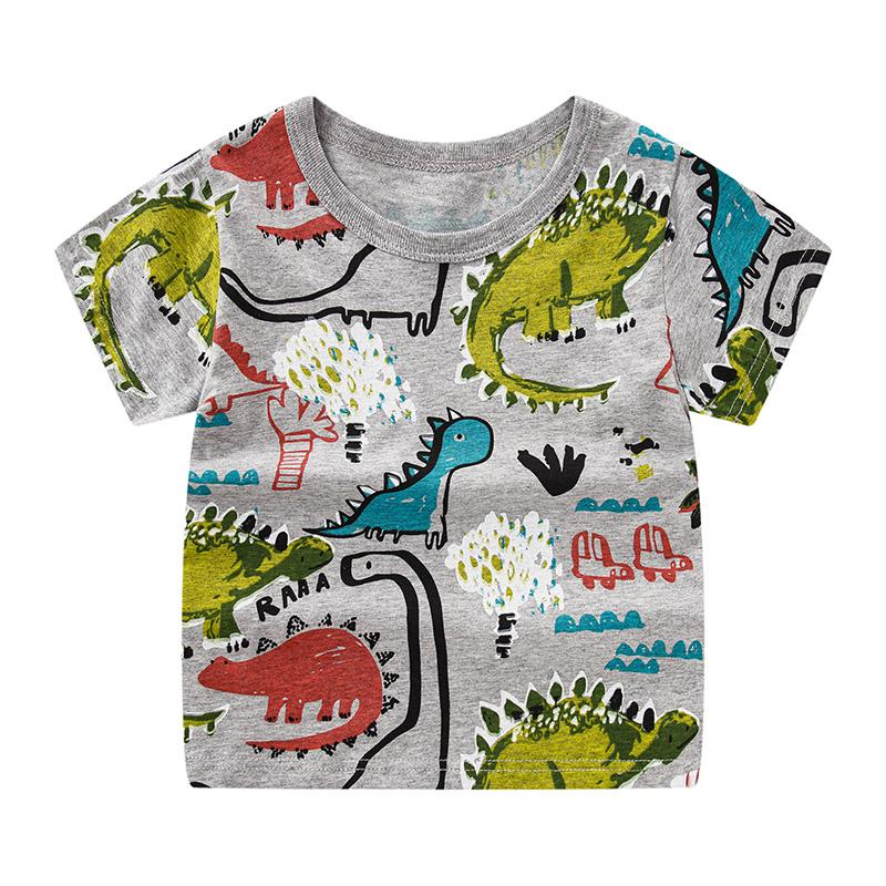 Cartoon Pattern T-shirt for Boy - PrettyKid