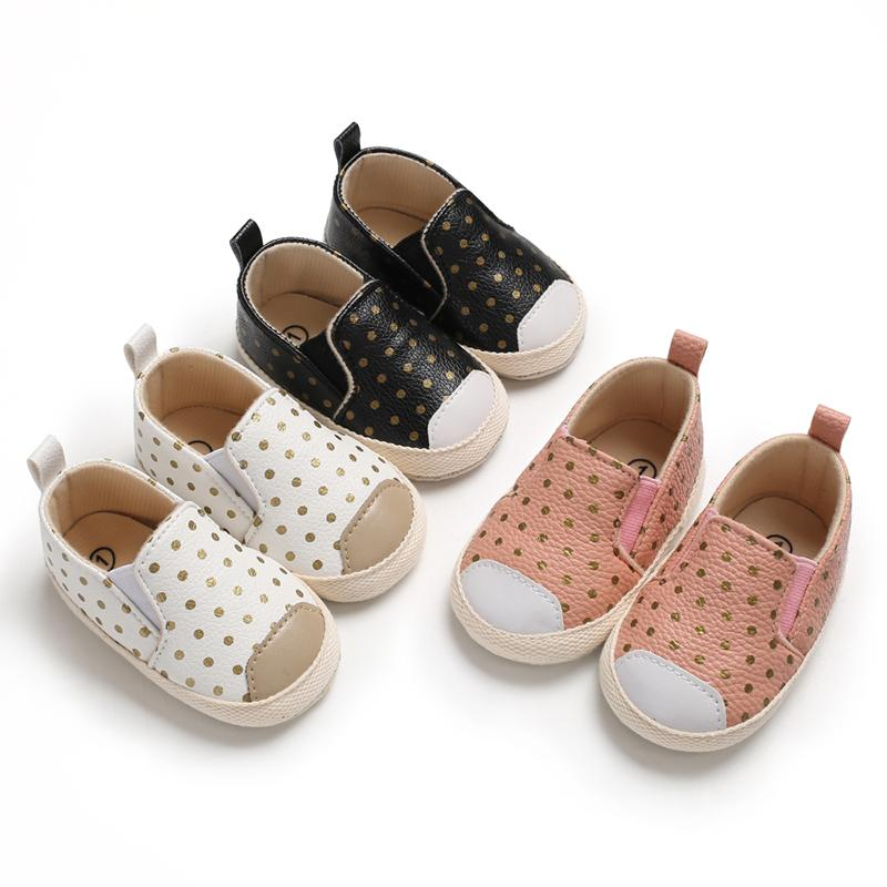 Mommy And Me Overalls Set of feet Baby Shoes