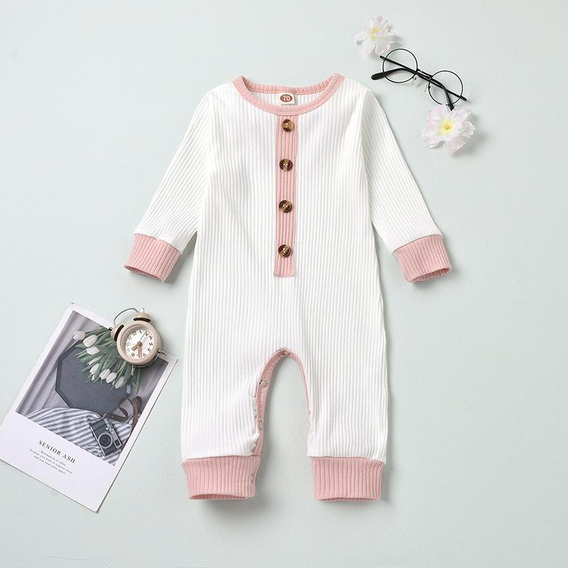 Color-block Jumpsuit for Baby Wholesale children's clothing