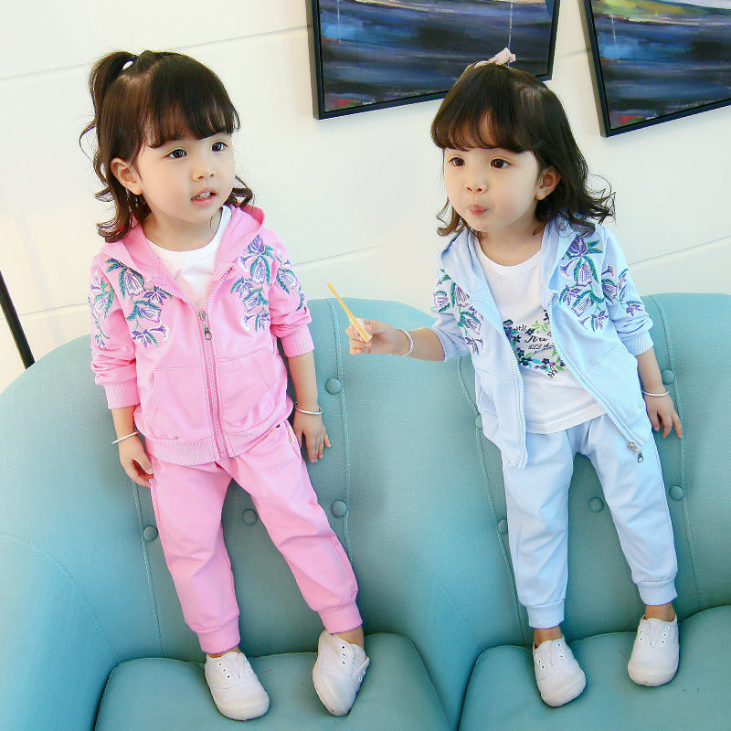 Clearance Clothes Girls' Children's Suit Fashion