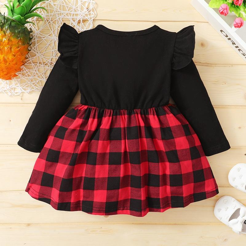 Plaid Dress for Baby Girl Wholesale children's clothing