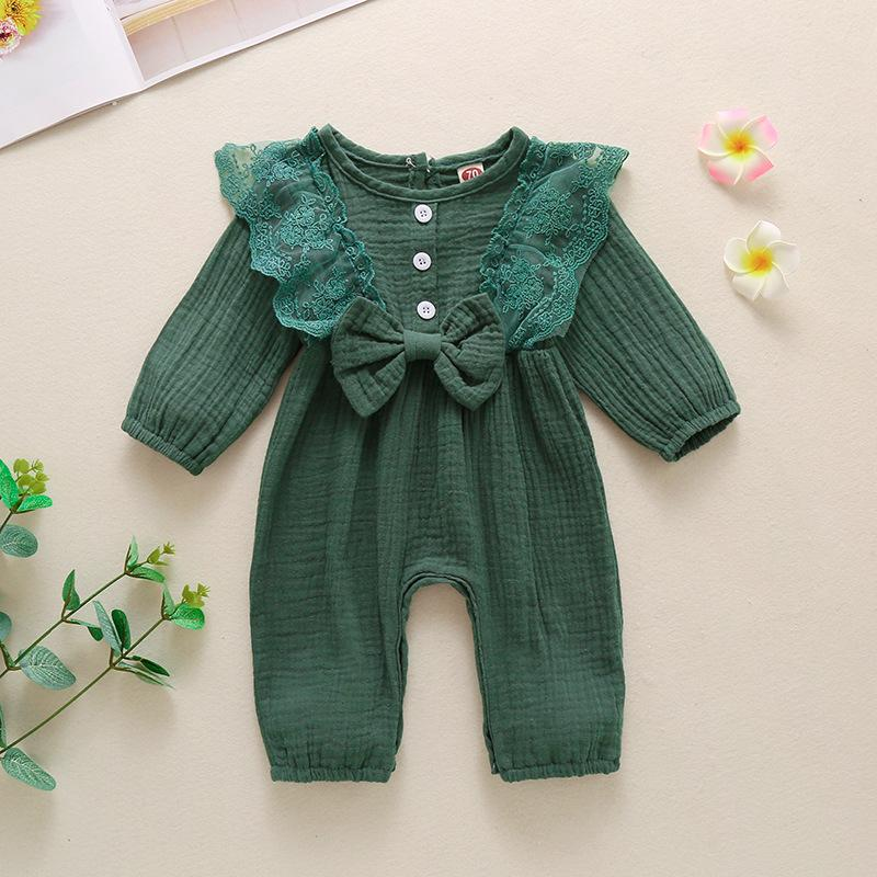 Ruffle Rompe for Baby Girl Wholesale children's clothing